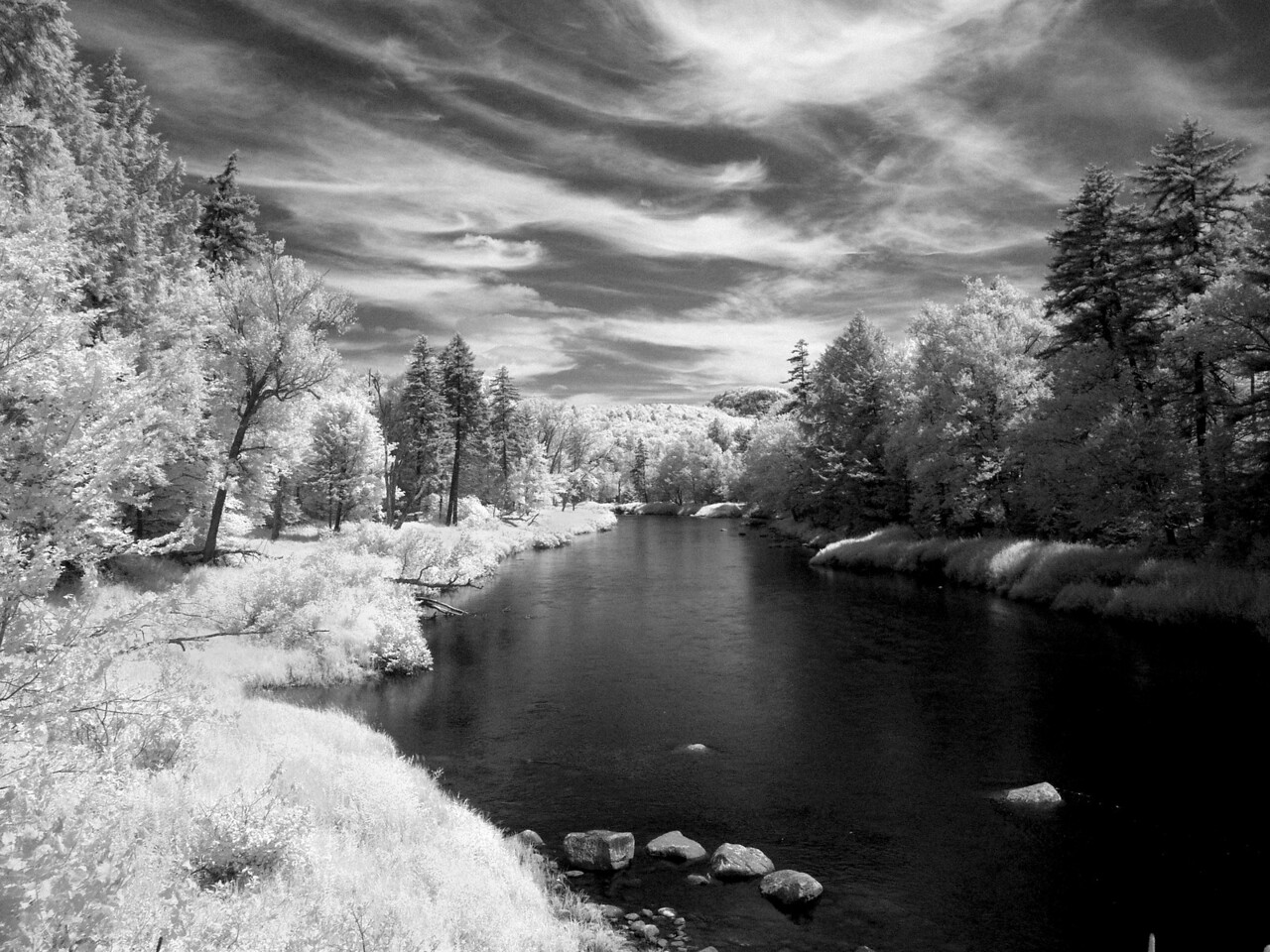 Moose River, Infrared